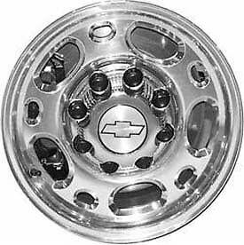 Set of 4 GMC Sierra 1500HD 2500 3500 Yukon XL 2500 Polished Wheels