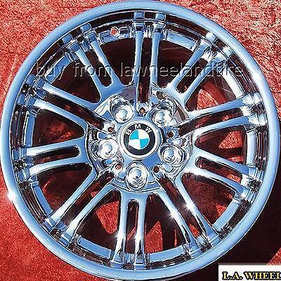 NEW 18 BMW M3 E46 FACTORY OEM CHROME WHEELS RIMS 335I EXCHANGE 59367