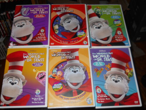 SET OF 6 DVDS MOVIES .THE WUBBULOUS WORLD OF DR SEUSS in DVDs & Movies, Wholesale Lots, DVDs & Blu-ray Discs | eBay