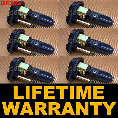 Set of 6 New Ignition Coil on Plug Pencil Chevy Chevrolet GMC Isuzu H3 Hummer