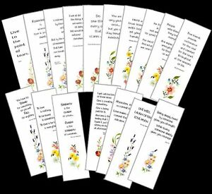 SET of 2 BOOKMARKS Bookmark SAYING Choice FREE SHIPPING in Books, Accessories, Bookmarks | eBay