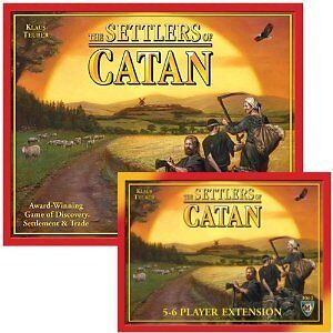 SETTLERS OF CATAN Board Game Bundle/Set: Base Game + 5-6 Player Ext. 4th Edition in Toys & Hobbies, Games, Board & Traditional Games | eBay