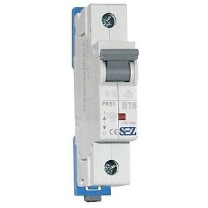 SEZ-Leitungsschutzschalter-B16A-1p-10kA-VDE-Sicherungsautomat-Sicherung