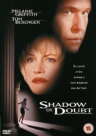SHADOW-OF-DOUBT-DVD-2003-MELANIE-GRIFFITH-TOM-BERENGER-THRILLER-PLAYED-ONCE