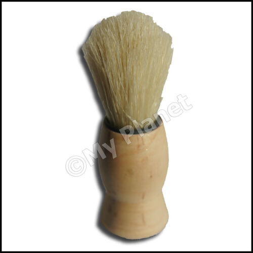 shaving brush classic bristle retro wooden handle barbers hair beard shaver tool ebay. Black Bedroom Furniture Sets. Home Design Ideas
