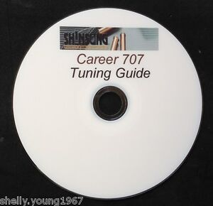 SHINSUNG-CAREER-707-and-SUMATRA-AIR-RIFLE-TUNING-GUIDE-PRINTED-DVD-FREE-TARGETS