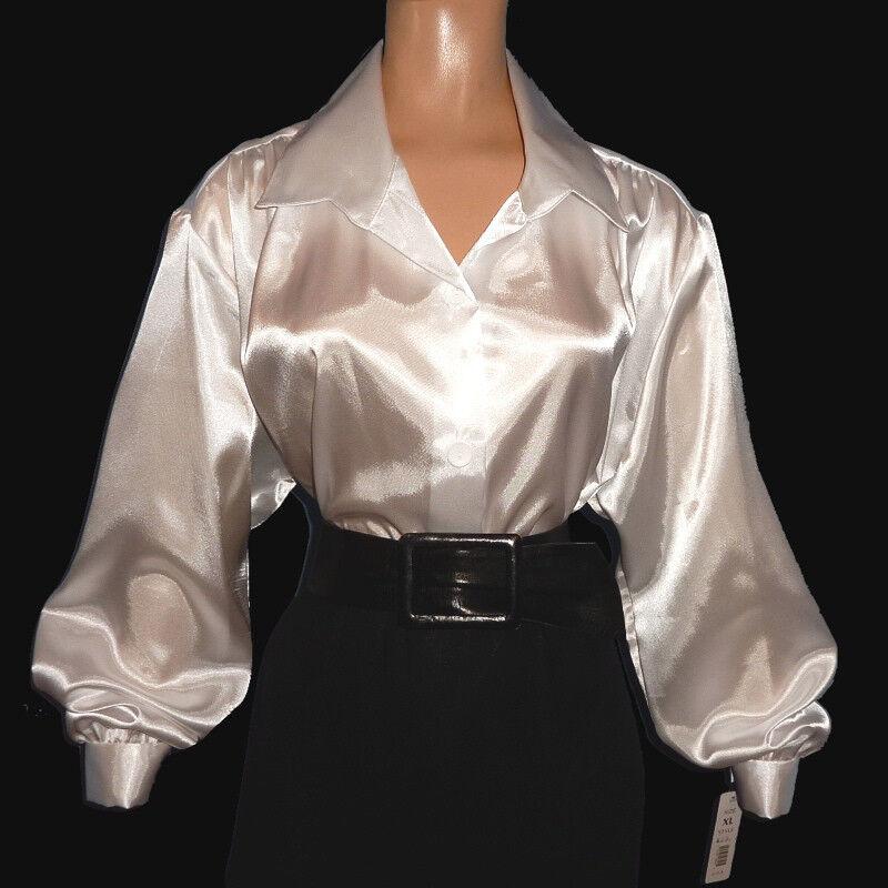 white satin blouse long sleeve long sleeved blouse