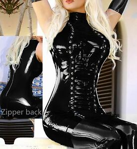 SHINY-WETLOOK-DOMINA-KLEID-LATEX-LACK-LEDER-STYLE-FETISCH-BDSM
