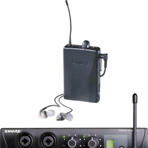 SHURE PSM200 WIRELESS PERSONAL IN EAR MONITORS IN PERFECT CONDITION in Musical Instruments & Gear, Pro Audio Equipment, Speakers & Monitors | eBay