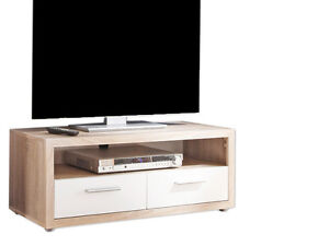 sideboard m bel tv tisch lowboard schrank rack regal eiche fernseher kommode b8 ebay. Black Bedroom Furniture Sets. Home Design Ideas