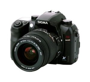 SIGMA SD15 14,4 MP Digitalkamera - Schwa...