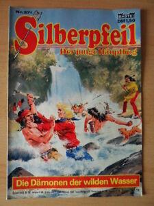 SILBERPFEIL-Nr-371-Die-Daemonen-der-wilden-Wasser-1-2-Bastei-Verlag-Orginal