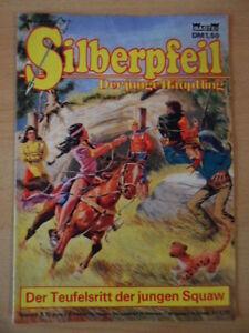 SILBERPFEIL-Nr-410-Der-Teufelsritt-der-jungen-Squaw-1-2-Bastei-Verlag-Orginal