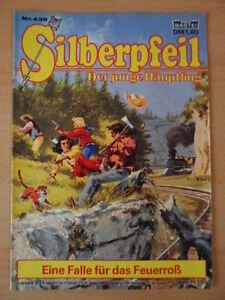 SILBERPFEIL-Nr-438-Eine-Falle-fuer-das-Feuerross-1-2-Bastei-Verlag-Orginal