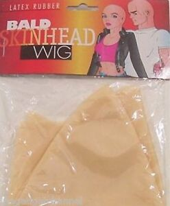 SKIN-HEAD-BALD-WIG-CAP-FUNNY-FANCY-DRESS-PARTY-LATEX-MENS-FUN-NOVELTY-JOKE-GIFT