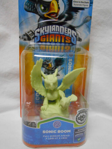 SKYLANDERS GIANTS Glow in the Dark SONIC BOOM NEW EXCLUSIVE Figure in Toys & Hobbies, Action Figures, TV, Movie & Video Games | eBay