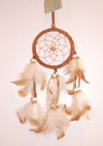 SMALL-HANDMADE-NATIVE-DREAMCATCHER-IN-TAN-dcle06tan