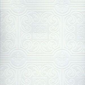 Wallpaperpaintablesswirl dado panel paintable wallpaper - Textured wallpaper on ceiling ...