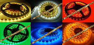 SMD-Strip-LED-Streifen-LED-LICHTBAND-in-verschiedenen-Laengen-u-Farben