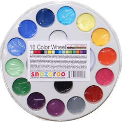 SNAZAROO 16 Color Wheel FACE PAINT PAINTING PALETTE-Kid in Crafts, Kids' Crafts, Other | eBay
