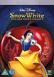 SNOW-WHITE-THE-SEVEN-DWARFS-DVD-REG-2-UK-PAL-NEW-SEALED