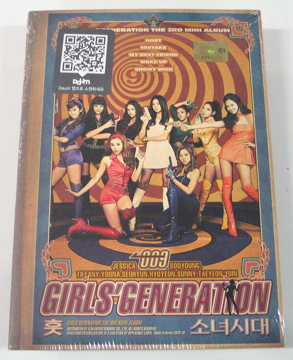 SNSD Girls Generation   Hoot (Free Poster + Photocard)
