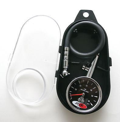 So Cal Speed Shop Tire Air Pressure Gauge Rat Hot Rod Street Custom Tool Hose