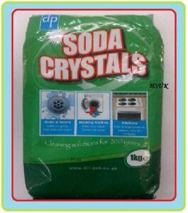 soda washing crystals 1kg kitchen sink drains clothes ebay. Black Bedroom Furniture Sets. Home Design Ideas