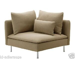 s derhamn ikea eckelement bezug repl sa beige ecksofabezug ecksofa ebay. Black Bedroom Furniture Sets. Home Design Ideas
