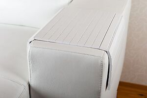 sofatablett hocker sofa couch armlehne ablage tablett weiss schwarz braun ebay. Black Bedroom Furniture Sets. Home Design Ideas