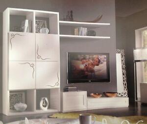 SOGGIORNO SOGGIORNI PORTA TV PLASMA LCD LED PARETI COMPONIBILI MODERNO ...