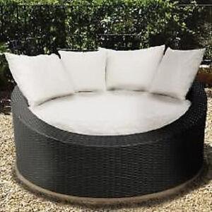 sonneninsel rattan gartenm bel garten insel m bel insel ebay. Black Bedroom Furniture Sets. Home Design Ideas