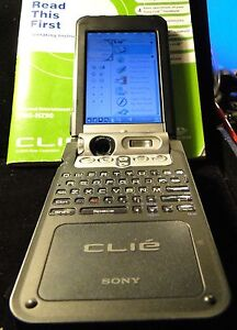 SONY-CLIE-PEG-NZ90-U-PERSONAL-ENTERTAINMENT-ORGANIZER-HANDHELD