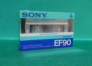SONY-EF-90-improved-Type-I-Original-Vintage-Audio-Cassette