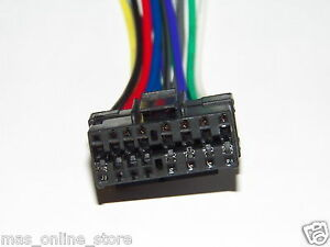 sony cdx 4000x cdx4000x wire harness pay today ships today ebay