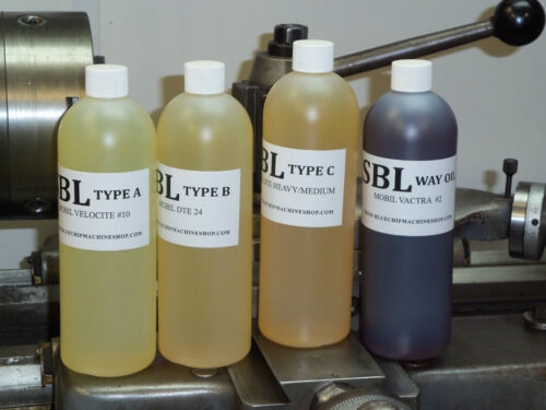SOUTH BEND LATHE RECOMMENDED A, B, and C LATHE OILS in Business & Industrial, Manufacturing & Metalworking, Metalworking Tooling | eBay