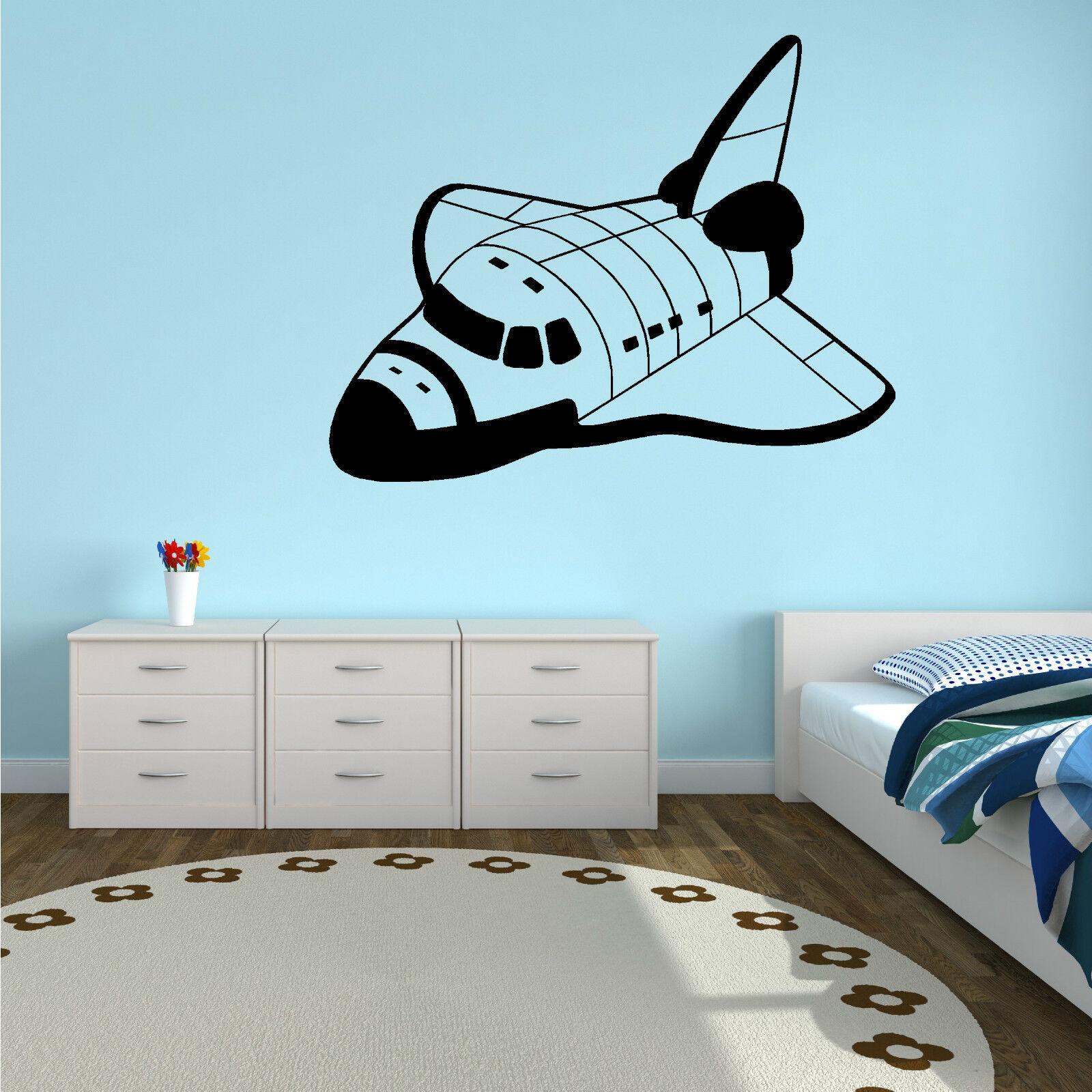 SPACE SHUTTLE N.A.S.A Vinyl Wall Art Sticker Decal Boys