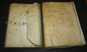 SPANISCHE-HANDSCHRIFT-AUF-PERGAMENT-PERGAMENTEINBAND-UM-1490-1520