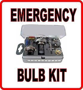 spare bulb kit h1 h4 h7 207 indicator stop & tail brake fuses 499 472 headlight