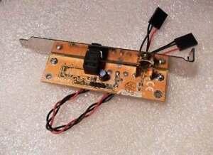 spdif rca out motherboard cable bracket plate cable bracket for asus msi ecs ebay. Black Bedroom Furniture Sets. Home Design Ideas