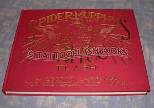 Spider Tatto on Spider Murphy S Tattoo Flash Book Gun Kit Needles Machine Ink Vialetto