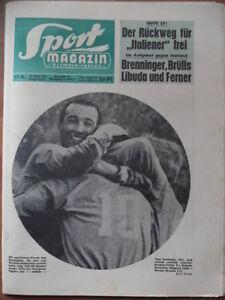 SPORT-MAGAZIN-11-A-14-3-1966-Konietzka-Dortmund-Bayern-3-0-Gladbach-1-FCN-8-3