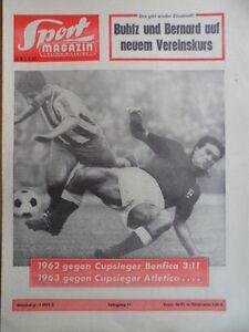 SPORT-MAGAZIN-KICKER-14-B-3-4-1963-62-gegen-Cupsieger-Benfica-3-1-Esihockey