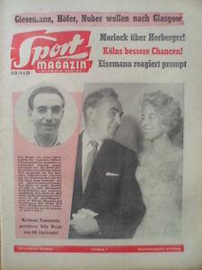 SPORT-MAGAZIN-KICKER-15-B-9-4-1959-Billy-Wright-100-Laenderspiel-Herberger