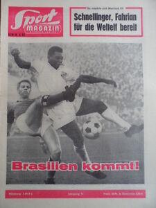 SPORT-MAGAZIN-KICKER-16-B-18-4-1963-Brasilien-kommt-Pele-Atletico-Madrid