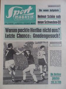 SPORT-MAGAZIN-KICKER-26A-21-6-1965-Aufstieg-Aachen-TB-5-4-Bayern-Saarbr-5-0