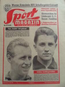 SPORT-MAGAZIN-KICKER-27-B-5-7-1956-Herbert-Doerner-Vollmar-Sailor-Birgit-Klomp