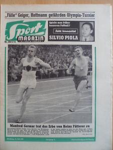 SPORT-MAGAZIN-KICKER-28A-15-7-1957-Manfred-Germar-S-Pinole-Tour-de-France