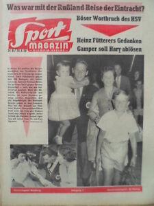 SPORT-MAGAZIN-KICKER-34-B-20-8-1959-Sportfreunde-Katernberg-Rad-WM-Holland