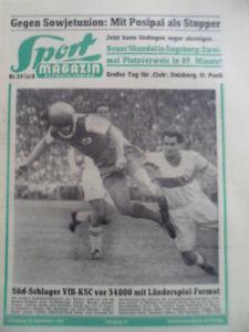 SPORT-MAGAZIN-KICKER-37A-10-9-1956-Stuttgart-KSC-0-1-Nuernberg-Bayern-3-1-Kohn